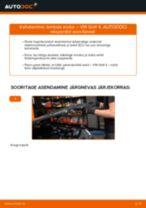 VW GOLF Lambda-andur vahetamine: juhend online