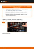 Kaip pakeisti VW Golf 4 liambda zondas - keitimo instrukcija