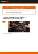 Kaip pakeisti Stabilizatoriaus įvorė OPEL ZAFIRA TOURER C (P12) - instrukcijos internetinės