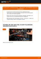 Kühlmitteltemperatursensor wechseln VW GOLF: Werkstatthandbuch