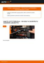 Kuinka vaihtaa sytytyspuola VW Golf 4-autoon – vaihto-ohje