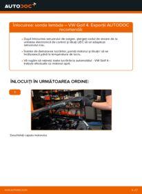 Cum să efectuați înlocuirea: Sonda Lambda la 1.4 16V Golf 4