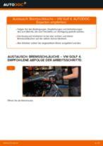 Wie VW Golf 4 Bremsschläuche vorne wechseln - Schritt für Schritt Anleitung