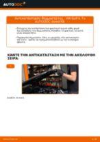 Online εγχειρίδιο για να αλλάξετε Βάσεις στήριξης κινητήρα σε VW GOLF IV (1J1)