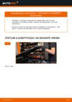 Como substituir Correia de ventoinha VW GOLF IV (1J1) - manual online