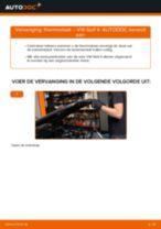 VW Stabilisator achter en vóór veranderen doe het zelf - online handleiding pdf