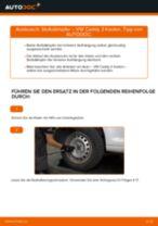 VW CADDY Wartungsanweisung