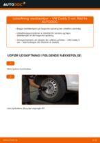Udskift støddæmper bag - VW Caddy 3 van | Brugeranvisning
