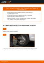 VW CADDY Gólyaláb cseréje : ingyenes pdf