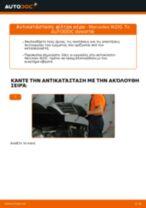 Πώς να αλλάξετε φίλτρα αέρα σε Mercedes W210 - Οδηγίες αντικατάστασης
