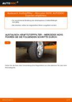Wie Mercedes W210 Kraftstofffilter wechseln - Anleitung
