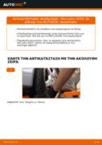 Τοποθέτησης Φανάρια αυτοκινήτων MERCEDES-BENZ E-CLASS (W210) - βήμα - βήμα εγχειρίδια