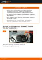 MERCEDES-BENZ E-CLASS (W210) Bremsscheibe wechseln: Handbücher und Ratschläge