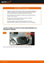 Cómo cambiar: discos de freno de la parte trasera - Mercedes W210 | Guía de sustitución