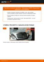 Doporučení od automechaniků k výměně MERCEDES-BENZ Mercedes W210 E 220 CDI 2.2 (210.006) Brzdové Destičky