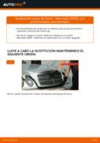 Cómo cambiar: pinza de freno de la parte delantera - Mercedes W210 | Guía de sustitución