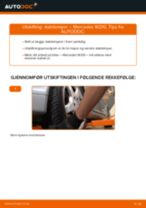 Bytte Støtdempere foran MERCEDES-BENZ E-CLASS: guide på nett