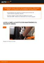 Cómo cambiar: brazo inferior de la parte trasera - Mercedes W210 | Guía de sustitución