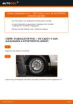 Cseréljünk Összekötőrúd VW CADDY: felhasználói kézikönyv