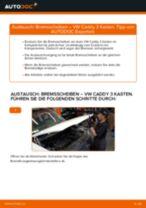 Reparatur- und Servicehandbuch für VW Caddy 4 Kombi