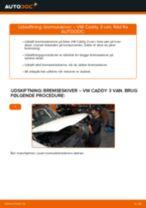 Udskift bremseskiver for - VW Caddy 3 van | Brugeranvisning