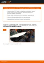 Opi korjaamaan VW Jarrulevyt ongelmat