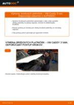 Návod k obsluze VW CADDY