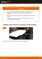 Dielňa príručka pre VW Caddy II Kombi