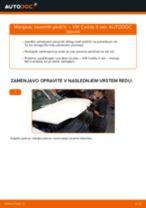 VW CADDY priročnik za odpravljanje težav