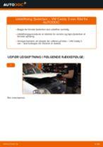 Manuel PDF til vedligeholdelse af CADDY