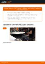 Onlineguide för att själv byta Spiralfjäder i VW Touareg 7p