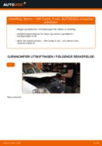 DIY-manual for utskifting av Fjærer i VW CADDY 2020