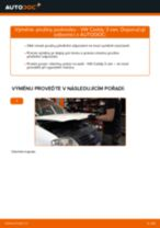 Manuál pro kutily o výměně Regulace dynamiky jizdy v AUDI A6 2020