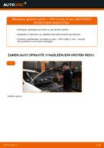 Priročnik PDF o vzdrževanju CADDY