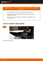 Mainīties VW CADDY III Box (2KA, 2KH, 2CA, 2CH) Piekare - soli-pa-solim pamācības PDF