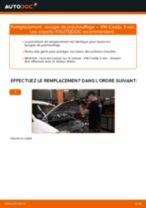 Comment changer : bougie de préchauffage sur VW Caddy 3 van - Guide de remplacement