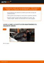 Instrucciones gratuitas en línea sobre cómo renovar Bujías de incandescencia VW CADDY III Box (2KA, 2KH, 2CA, 2CH)