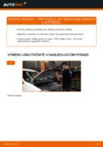 Krok za krokom příručka na opravu VW Caddy 2 Van
