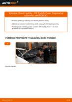Jak vyměnit žhavící svíčky na VW Caddy 3 van – návod k výměně