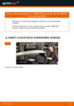 Üzemanyagszűrő-csere BMW E39 touring gépkocsin – Útmutató