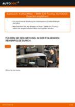 Anleitung: BMW E39 Touring Kraftstofffilter wechseln