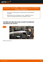 Wie Handbremsbacken BMW 5 SERIES austauschen und anpassen: PDF-Anweisung