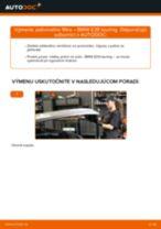 Ako vymeniť palivový filter na BMW E39 touring – návod na výmenu