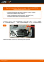Jak wymienić zacisku hamulcowego tył w Mercedes W210 - poradnik naprawy