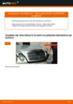 Tutorial zur Reparatur und Wartung für Mercedes S210