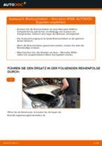 Wie Bremsscheibe MERCEDES-BENZ A-CLASS austauschen und anpassen: PDF-Anweisung