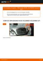 PDF handleiding voor vervanging: Bougies MERCEDES-BENZ E-Klasse Sedan (W210)