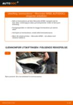 Veiledning på nettet for å skifte Bremseskiver i MERCEDES-BENZ A-CLASS (W168) selv