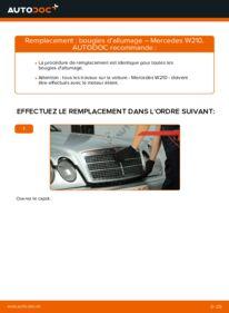 Comment effectuer un remplacement de Bougies d'Allumage sur E 300 3.0 Turbo Diesel (210.025) Mercedes W210