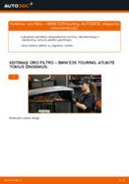 Kaip pakeisti gale ir priekyje Ratų cilindrai AUDI Q8 - instrukcijos internetinės